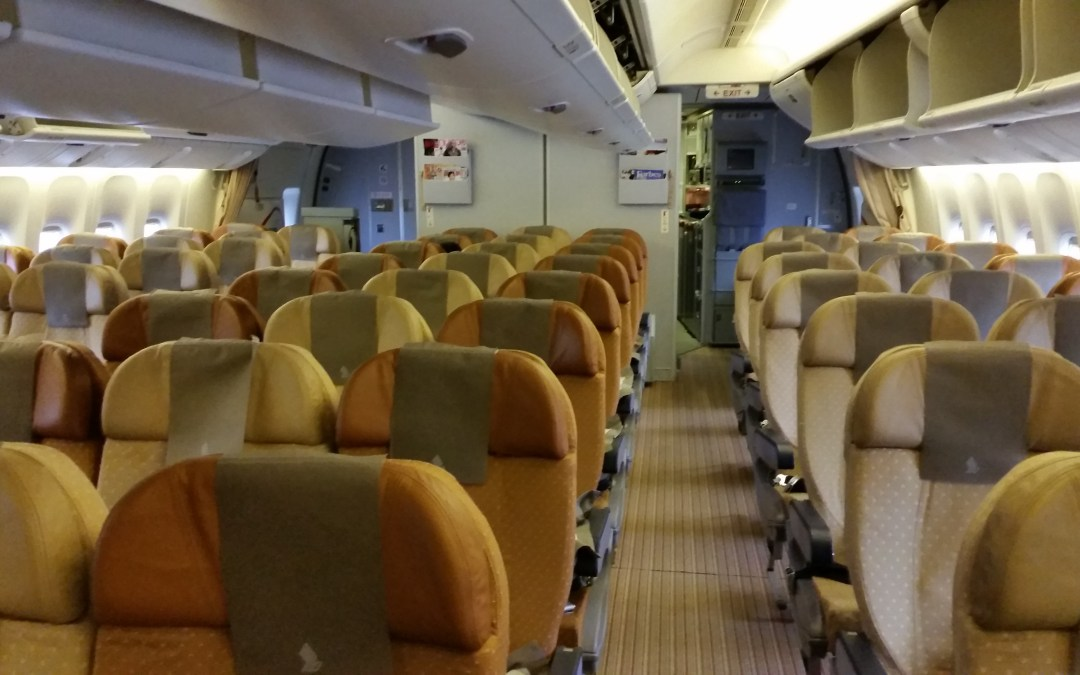 Review: Singapore Airlines Economy Class, SIN – BWN