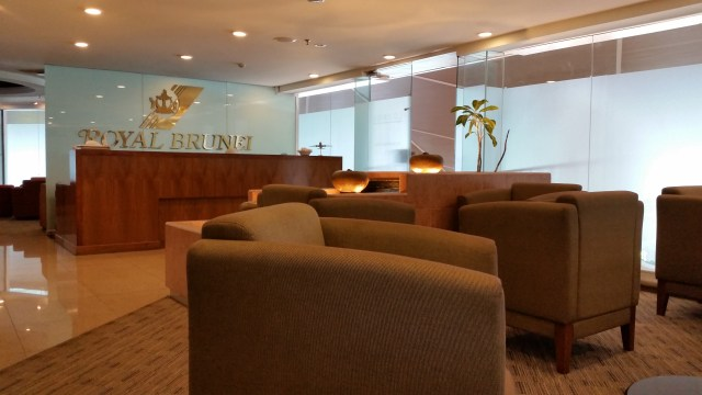 brunei airport sky lounge