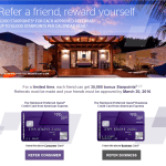 Earn Up to 110,000 Starpoints for Referring SPG Credit Cards