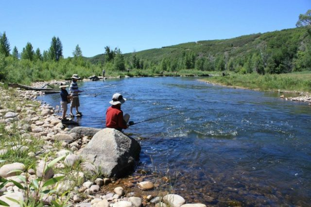 Provo River Fishing one of the best things to do in Heber Valley, Utah