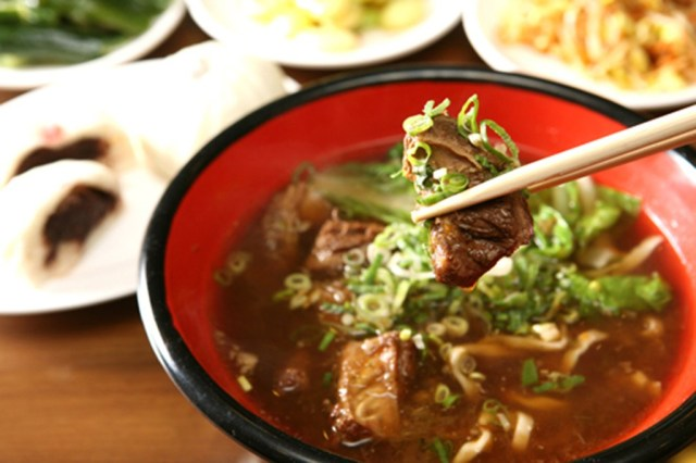 One of the best things to eat in Taiwan is Beef Noodle Soup