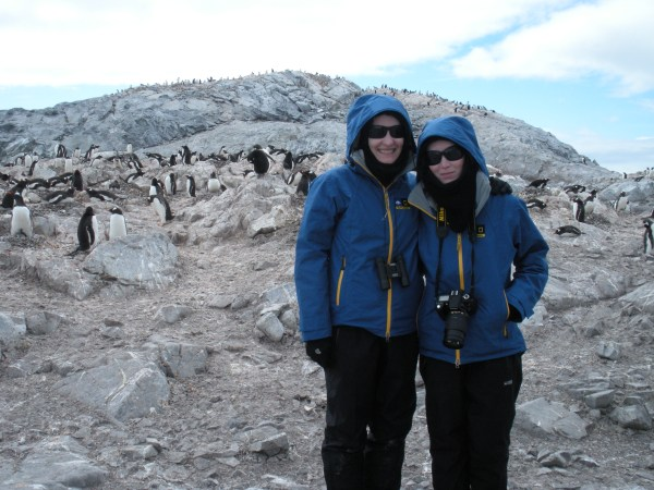 The Travel Sisters in Antarctica