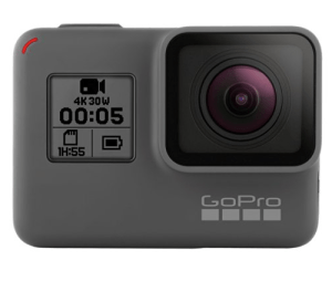 A GoPro camera is one of the best gifts for people who travel a lot