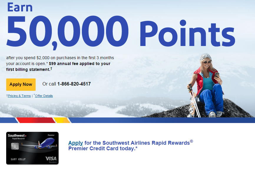 How to Find a Southwest Credit Card 50,000 Sign-Up Bonus When the Official Bonus is Lower