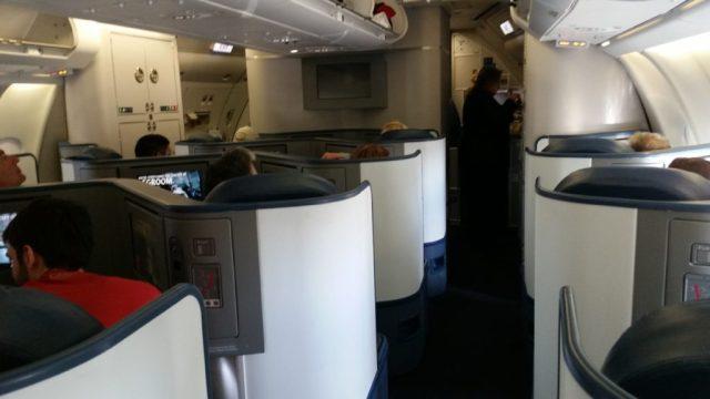 delta a330 first class lie flat seats to hawaii
