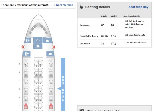 aa lie flat seats to hawaii