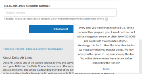 how to transfer amex points to delta