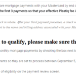 Plastiq Promotion: Lower Fees When Paying Mortgage with MasterCard