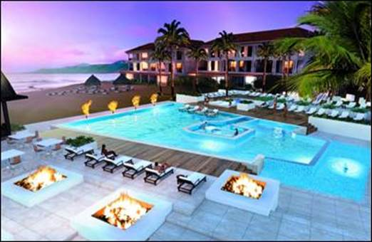 Zero-Entry Infinity Pool at Sandals LaSource Grenada Resort & Spa