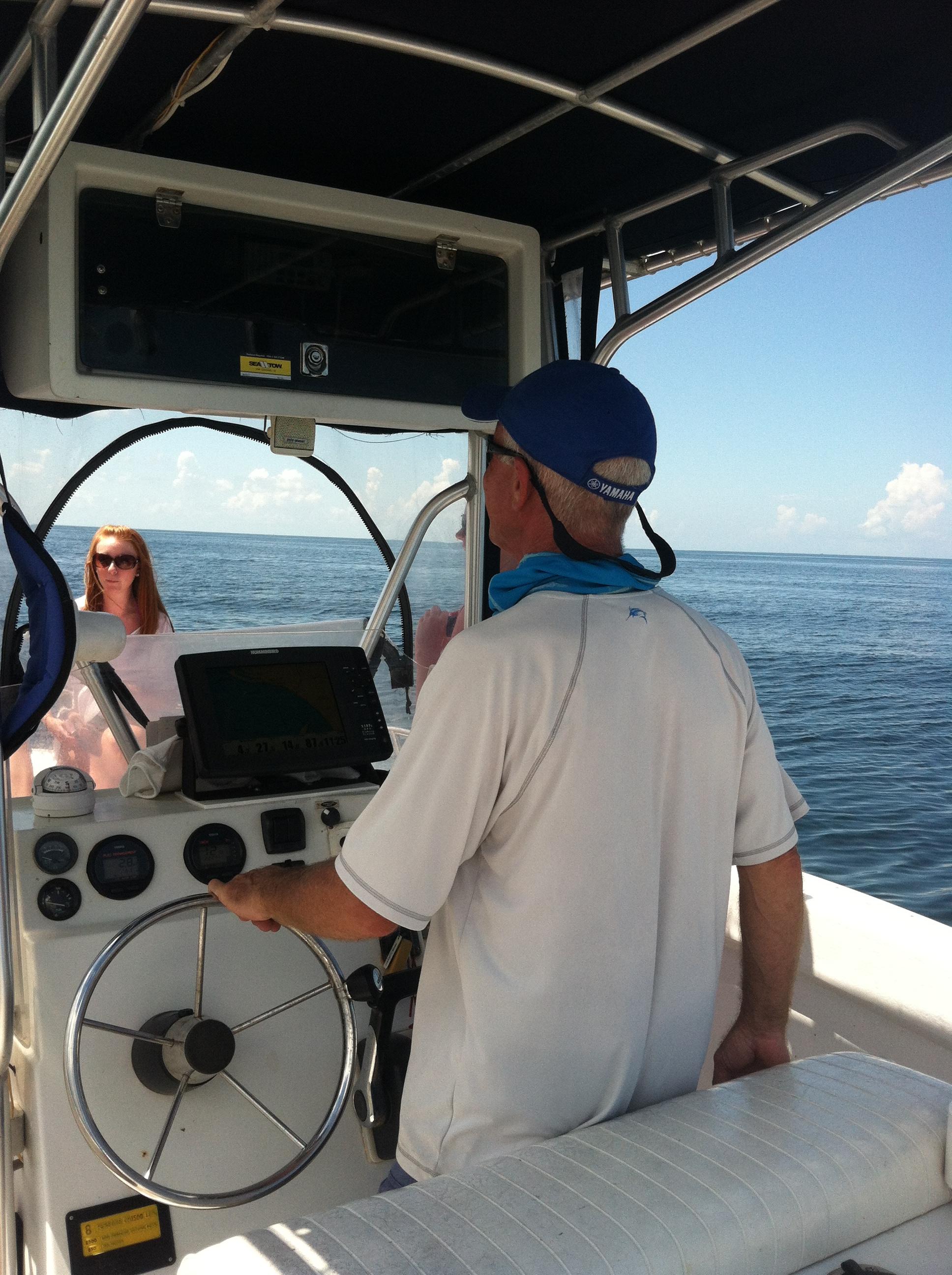 Capt Mitch at work