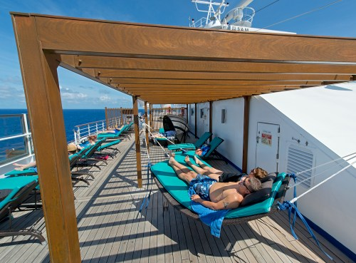 Serenity Deck on Carnival Freedom