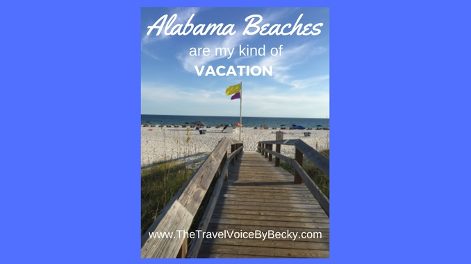 Alabama Beaches are my kind of vacation