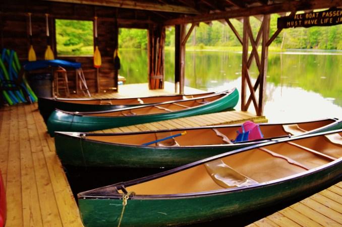 Canoes & Kayaks - High Hampton Inn & Country Club