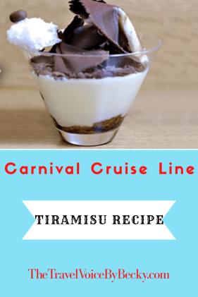 Carnival Tiramisu