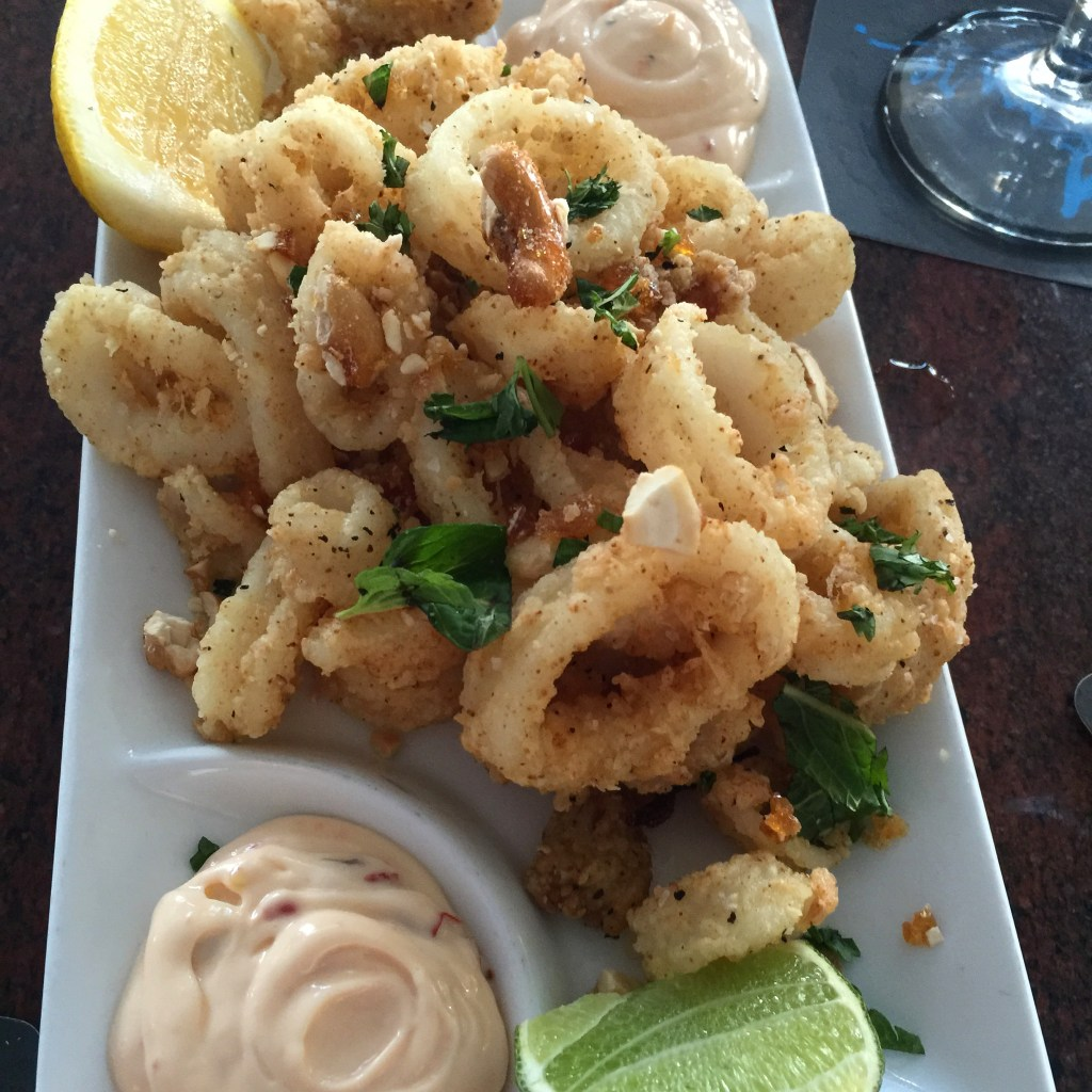 Calamari at Azure - things to do in Daytona Beach