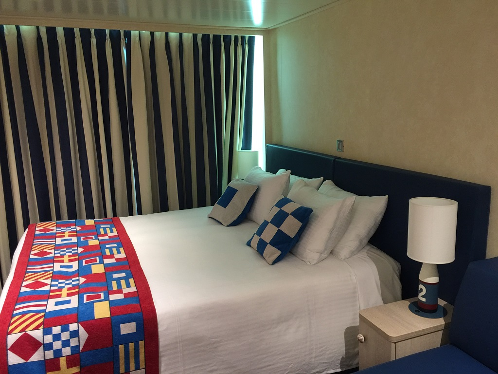 Family staterooms onboard Vista
