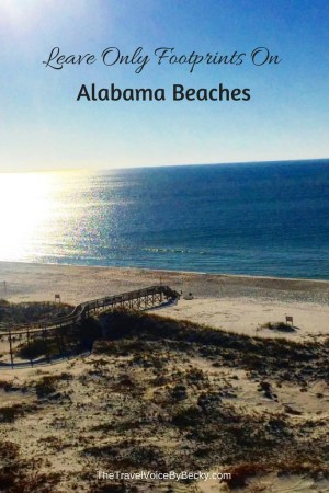 Leave Only Footprints On Alabama Beaches