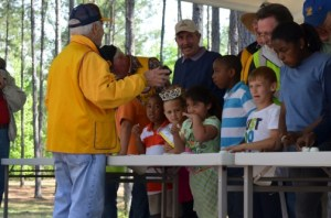 Test your taste buds with Saturday's World Famous Onion Eating Contest. Credit: Vidalia Area CVB
