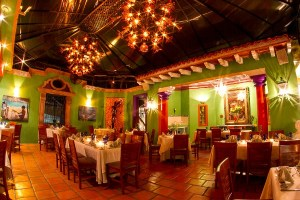 Puerto Vallarta's River Cafe setting the mood for the 21st Gourmet Festival.
