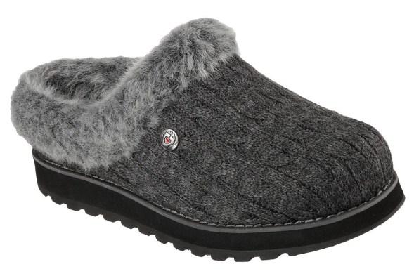 sketchers vegan slippers