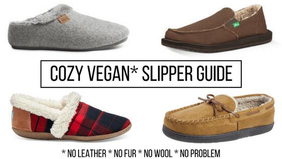 Vegan slippers guide