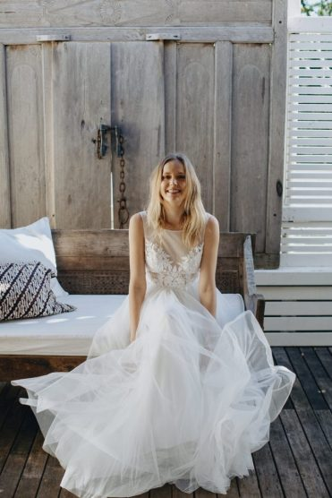 emmy mae bridal vegan dress gown indie