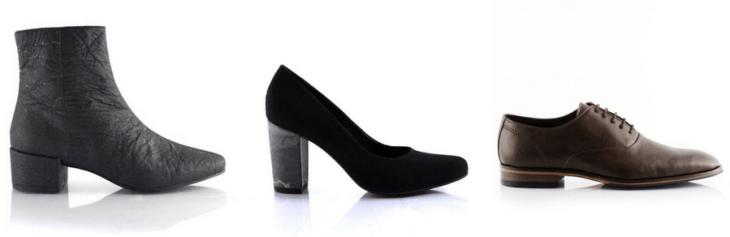 Bourgeois bohème vegan shoes pinatex sustainable