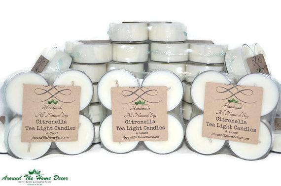summer essentials vegan mosquito repellant citronella candles