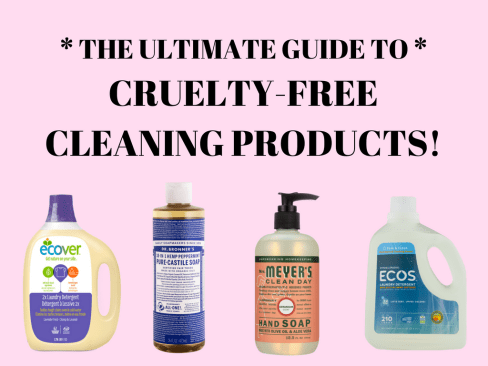 the ultimate guide to cruelty-free cleaning products ecover mrs meyers method