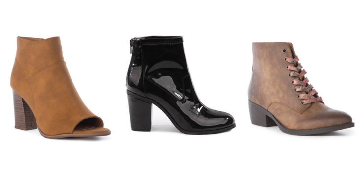 vegan boots bc footwear booties fall 2018