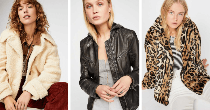 vegan jackets 2018 faux fur free people