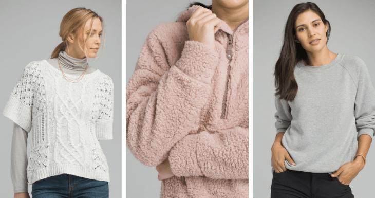 vegan sweaters sweatshirts ecofriendly prana 2018