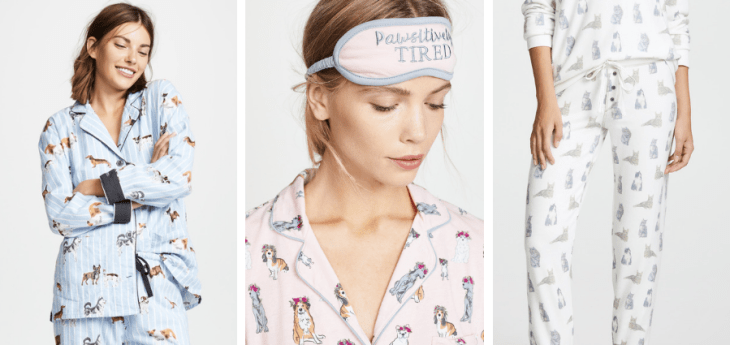 gifts for dog lovers cat lovers pj salvage pajamas