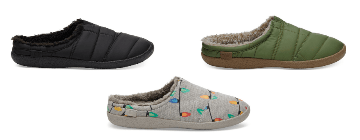 mens vegan slippers 2018 toms shearling