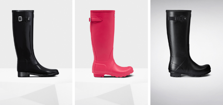 vegan black friday sales hunter boots
