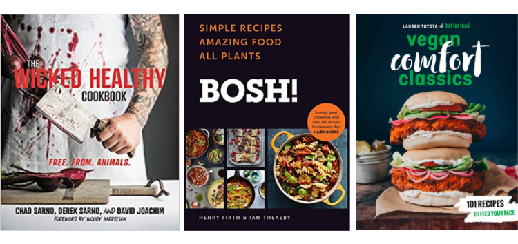 vegan gifts for men cookbooks wicked healthy bosh hot for food