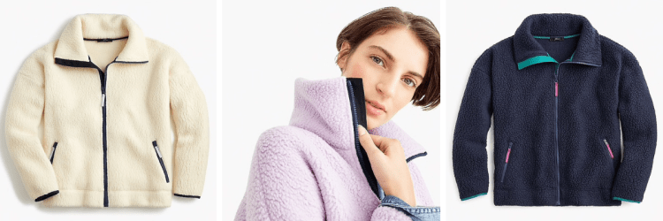 vegan gifts for women j crew fleece.png