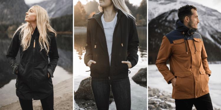 eco-friendly vegan jackets