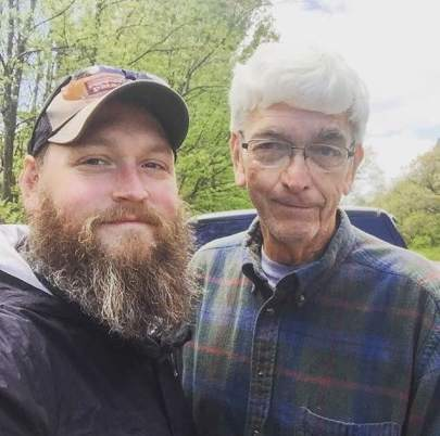 Will and his dad, Tom.