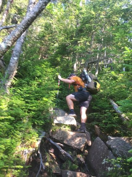rock climb - july