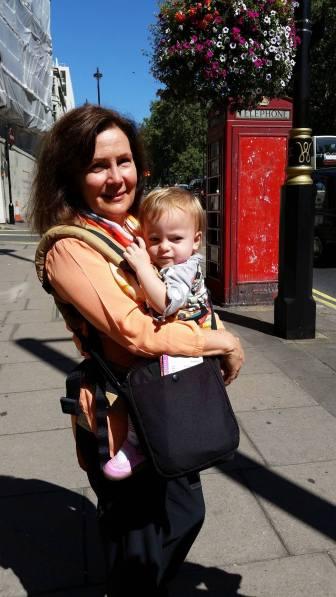 Walking around London with Grandma