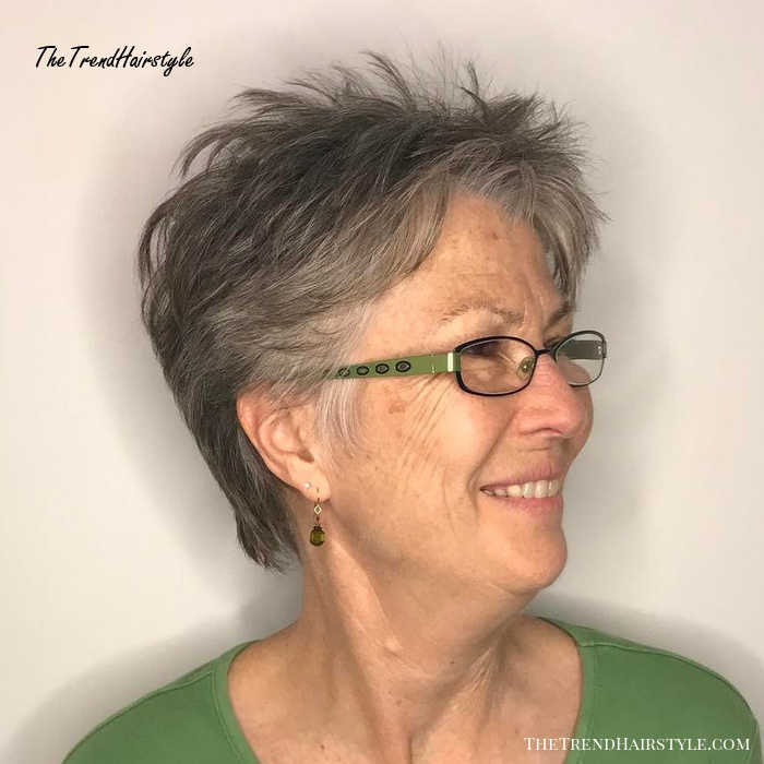 pixie haircut for over 70  novocomtop
