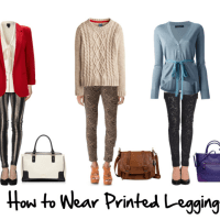 How to Wear Printed Leggings