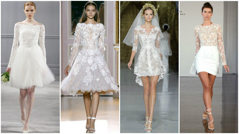 6 Best Short Wedding Dresses For That Special Day