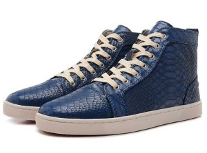 New-Blue-2015-High-quality-snake-print-leather-sneakers-for-women-men-high-top-red-style