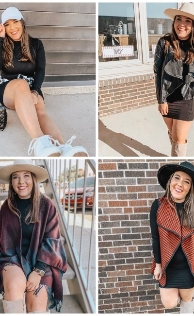How To Style A Black Dress 4 Ways