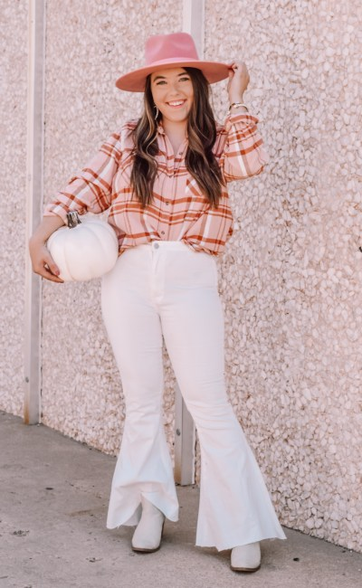 Flannels and Flares for Fall