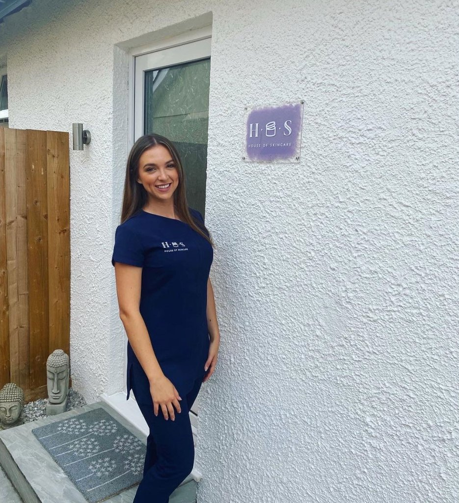 Alexis Fraser, owner of House of Skincare private beauty clinic in Kingsteignton, Devon