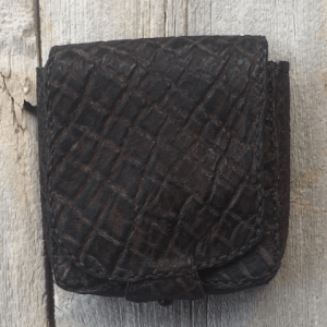 Elephant Hide Belt Pouch