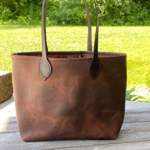 Womens Kodiak Leather Tote